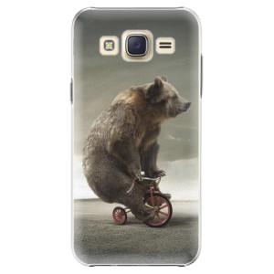 Plastové pouzdro iSaprio Bear 01 na mobil Samsung Galaxy J5