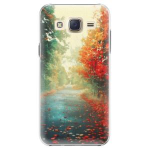Plastové pouzdro iSaprio Autumn 03 na mobil Samsung Galaxy J5