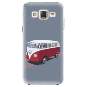 Plastové pouzdro iSaprio VW Bus na mobil Samsung Galaxy J5