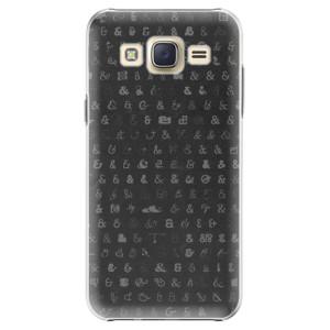 Plastové pouzdro iSaprio Ampersand 01 na mobil Samsung Galaxy J5