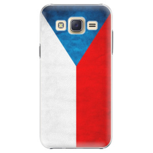 Plastové pouzdro iSaprio Czech Flag na mobil Samsung Galaxy J5