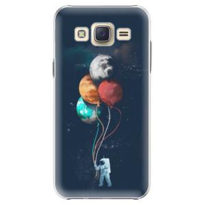 Plastové pouzdro iSaprio Balloons 02 na mobil Samsung Galaxy J5