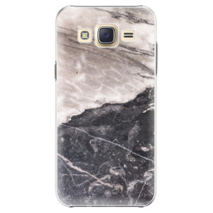 Plastové pouzdro iSaprio BW Marble na mobil Samsung Galaxy J5