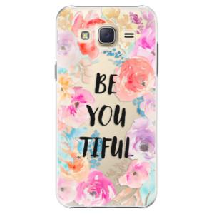 Plastové pouzdro iSaprio BeYouTiful na mobil Samsung Galaxy J5