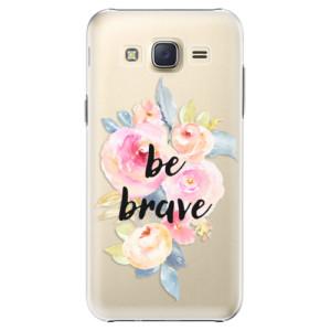 Plastové pouzdro iSaprio Be Brave na mobil Samsung Galaxy J5