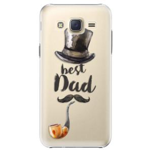 Plastové pouzdro iSaprio Best Dad na mobil Samsung Galaxy J5