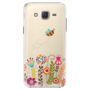 Plastové pouzdro iSaprio Bee 01 na mobil Samsung Galaxy J5