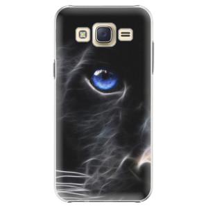 Plastové pouzdro iSaprio Black Puma na mobil Samsung Galaxy J5
