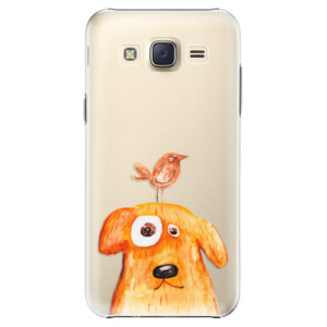 Plastové pouzdro iSaprio Dog And Bird na mobil Samsung Galaxy J5