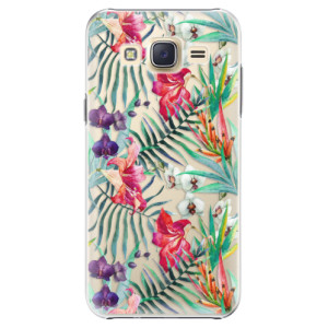 Plastové pouzdro iSaprio Flower Pattern 03 na mobil Samsung Galaxy J5