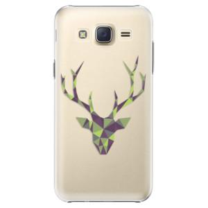 Plastové pouzdro iSaprio Deer Green na mobil Samsung Galaxy J5