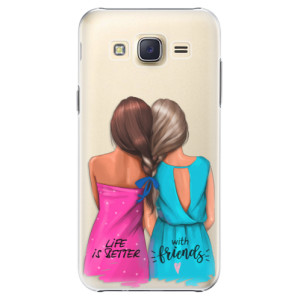 Plastové pouzdro iSaprio Best Friends na mobil Samsung Galaxy J5