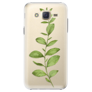 Plastové pouzdro iSaprio Green Plant 01 na mobil Samsung Galaxy J5