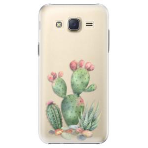 Plastové pouzdro iSaprio Cacti 01 na mobil Samsung Galaxy J5