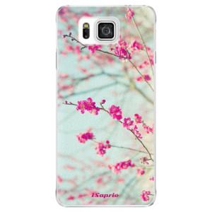 Plastové pouzdro iSaprio Blossom 01 na mobil Samsung Galaxy Alpha