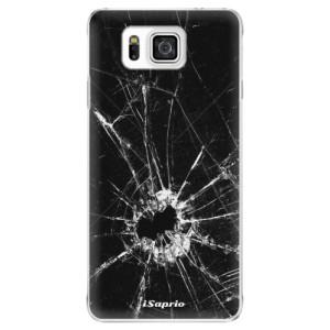 Plastové pouzdro iSaprio Broken Glass 10 na mobil Samsung Galaxy Alpha