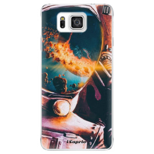 Plastové pouzdro iSaprio Astronaut 01 na mobil Samsung Galaxy Alpha
