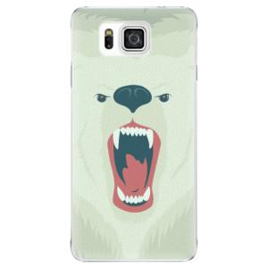 Plastové pouzdro iSaprio Angry Bear na mobil Samsung Galaxy Alpha