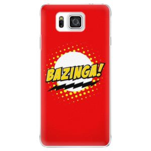Plastové pouzdro iSaprio Bazinga 01 na mobil Samsung Galaxy Alpha