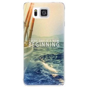 Plastové pouzdro iSaprio Beginning na mobil Samsung Galaxy Alpha