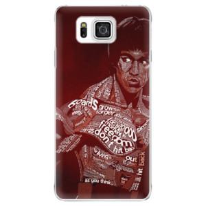Plastové pouzdro iSaprio Bruce Lee na mobil Samsung Galaxy Alpha