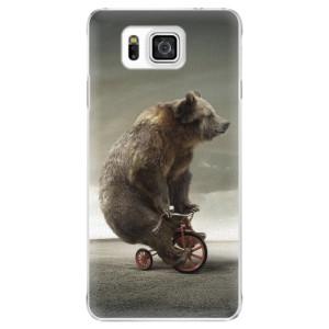 Plastové pouzdro iSaprio Bear 01 na mobil Samsung Galaxy Alpha