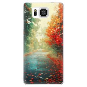 Plastové pouzdro iSaprio Autumn 03 na mobil Samsung Galaxy Alpha
