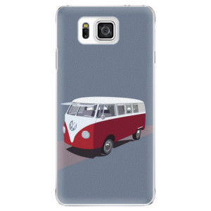 Plastové pouzdro iSaprio VW Bus na mobil Samsung Galaxy Alpha
