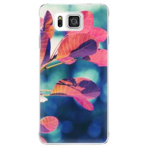 Plastové pouzdro iSaprio Autumn 01 na mobil Samsung Galaxy Alpha