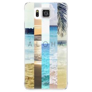 Plastové pouzdro iSaprio Aloha 02 na mobil Samsung Galaxy Alpha
