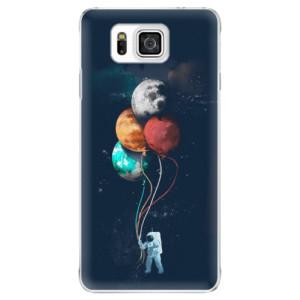 Plastové pouzdro iSaprio Balloons 02 na mobil Samsung Galaxy Alpha