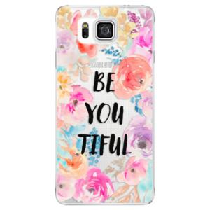 Plastové pouzdro iSaprio BeYouTiful na mobil Samsung Galaxy Alpha