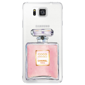 Plastové pouzdro iSaprio Chanel Rose na mobil Samsung Galaxy Alpha