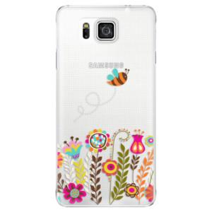 Plastové pouzdro iSaprio Bee 01 na mobil Samsung Galaxy Alpha