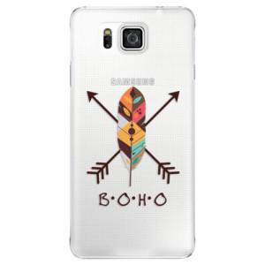 Plastové pouzdro iSaprio BOHO na mobil Samsung Galaxy Alpha