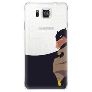 Plastové pouzdro iSaprio BaT Comics na mobil Samsung Galaxy Alpha