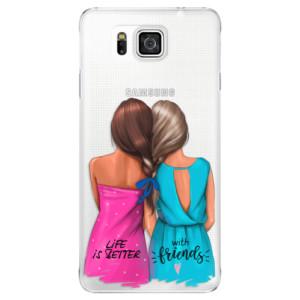 Plastové pouzdro iSaprio Best Friends na mobil Samsung Galaxy Alpha