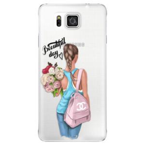 Plastové pouzdro iSaprio Beautiful Day na mobil Samsung Galaxy Alpha