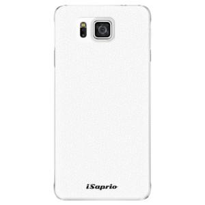 Plastové pouzdro iSaprio 4Pure bílé na mobil Samsung Galaxy Alpha