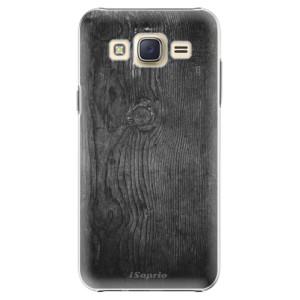 Plastové pouzdro iSaprio Black Wood 13 na mobil Samsung Galaxy Core Prime