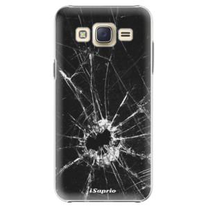 Plastové pouzdro iSaprio Broken Glass 10 na mobil Samsung Galaxy Core Prime