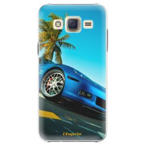 Plastové pouzdro iSaprio Car 10 na mobil Samsung Galaxy Core Prime