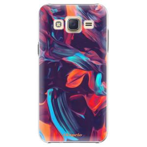 Plastové pouzdro iSaprio Color Marble 19 na mobil Samsung Galaxy Core Prime