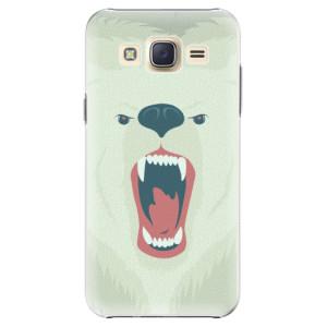 Plastové pouzdro iSaprio Angry Bear na mobil Samsung Galaxy Core Prime