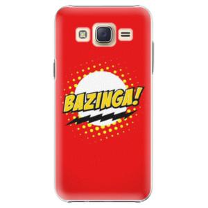 Plastové pouzdro iSaprio Bazinga 01 na mobil Samsung Galaxy Core Prime