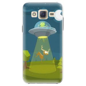 Plastové pouzdro iSaprio Alien 01 na mobil Samsung Galaxy Core Prime