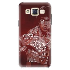 Plastové pouzdro iSaprio Bruce Lee na mobil Samsung Galaxy Core Prime