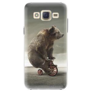 Plastové pouzdro iSaprio Bear 01 na mobil Samsung Galaxy Core Prime