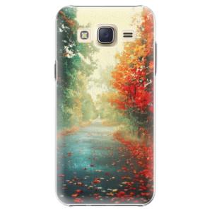 Plastové pouzdro iSaprio Autumn 03 na mobil Samsung Galaxy Core Prime
