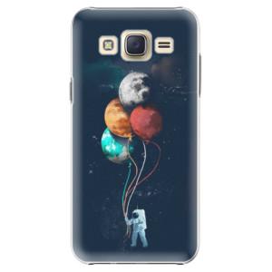 Plastové pouzdro iSaprio Balloons 02 na mobil Samsung Galaxy Core Prime